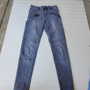 Zara Light Wash Gray Denim Size 2